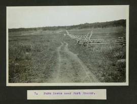 Farm scene near Fort Fraser
