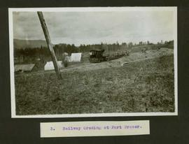 Railway grading at Fort Fraser