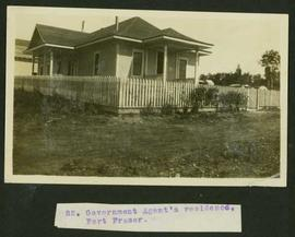 Government Agent's residence, Fort Fraser