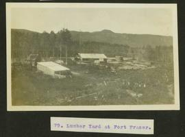 Lumber yard at Fort Fraser