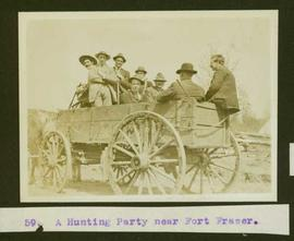 A hunting party near Fort Fraser