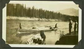 Supplies canoe headed to Ingenika Mine