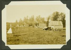 """Indian"" Village, Fort MacLeod B.C"