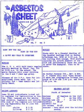 The Asbestos Sheet Dec. 1963
