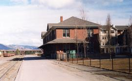 CNR depot in downtown Kamloops