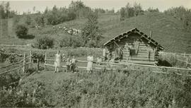 Children at the Westergaard Ranch on the Halfway River