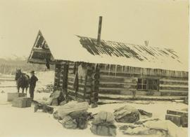 Ranger Alex Nelles' log cabin at Willow Creek