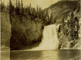 Potts Falls from Red Deer River