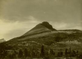 Striated mountain landscape located east of Dimsdale Lake