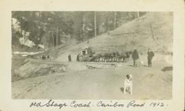 Old Stage Coach - Cariboo Road