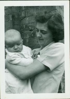 Family photographs from England: Marian and Baby John
