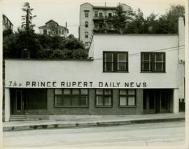 Prince Rupert Daily News - street view of building