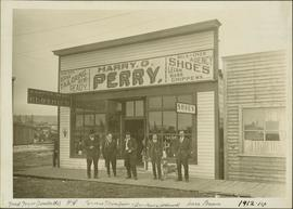 Harry G. Perry Tailor and Clothier shop