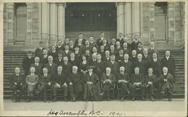 Group photo featuring members of the BC Legislative Assembly