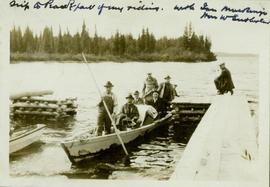 Arrival of Liberal politicians to the Peace River
