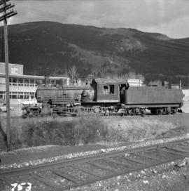2-6-0 locomotive in Blairmore, Alberta