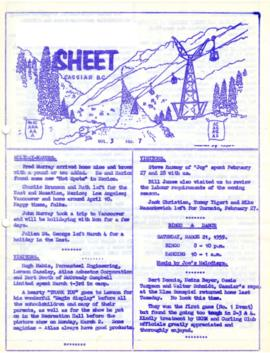 The Asbestos Sheet Mar. 1959