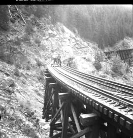CPR Kettle Valley Railway in Myra Canyon