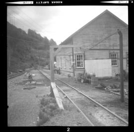 Britannia Copper Mine railway workshops