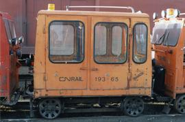 CN Kamloops Junction rail car
