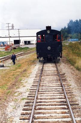 Alberni Pacific Railway tank locomotive