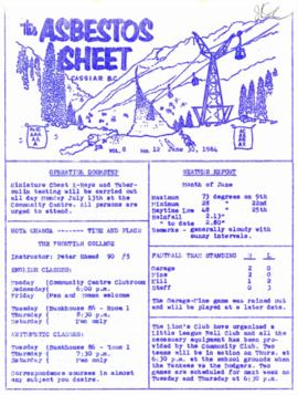 The Asbestos Sheet June 1964