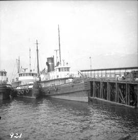 Northland steam tug at Vancouver