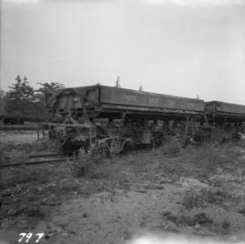 Ballast cars at Squamish