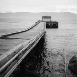 Wharf at Lang Bay, B.C.