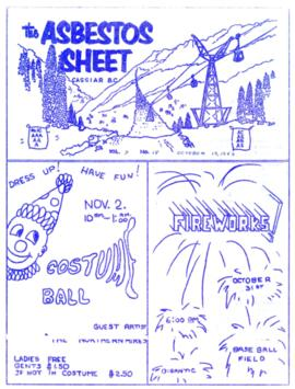 The Asbestos Sheet Oct. 1963