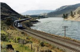 CN Rocky Mountaineer Rail Tour train