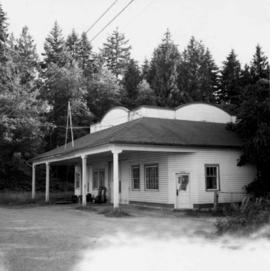 Former service station in Pitt Meadows, B.C.