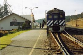 BC Rail - Exeter Station, 100 Mile House