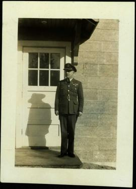 Flight Sergeant J. Hone at Whitehorse