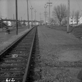 B.C. Electric Railway trackage in Vancouver