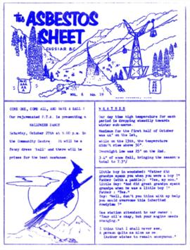 The Asbestos Sheet Oct. 1962