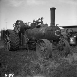 Sawyer Massey steam engine in Nanton, Alberta