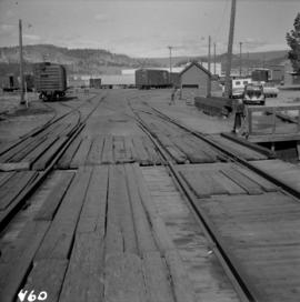 C.P.R. wharf-scow approach ramp at Kelowna
