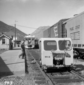 Pacific Great Eastern depot at Lillooet