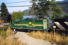 Okanagan Valley Railway locomotive