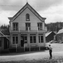 Saloon in Barkerville