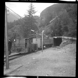 Britannia Copper Mine locomotive