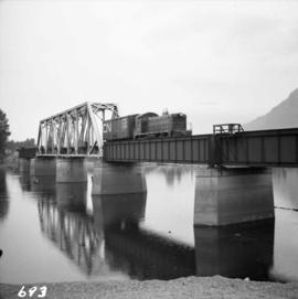 C.N.R. line across the Thompson River