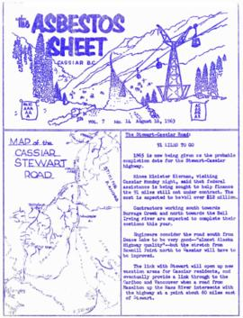 The Asbestos Sheet Aug. 1963