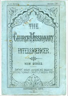"""The Church Missionary Intelligencer : New Series"""
