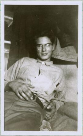 Unidentified Man Reclining