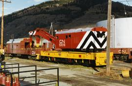 CN wrecking crane renovated in Kamloops