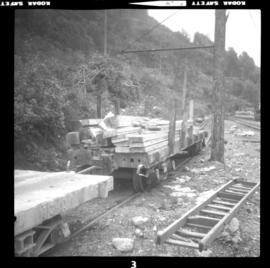 Britannia Copper Mine flat car