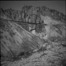 Trestle on the ex-CPR Coquihalla line