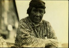 Carrier Woman at Tachi Village, Stuart Lake, BC
